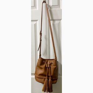 Forever 21 Boho Crossbody Bucket Bag